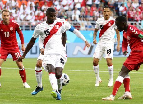 Mundial 2018. Dania szczęśliwie wygrywa z Peru [GALERIA]