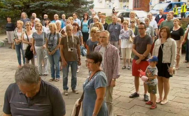 """""""Łańcuch światła"""" to kontynuacja protestów zapoczątkowanych 16 lipca"""
