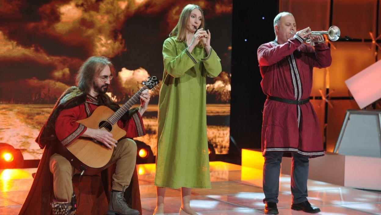 ...widowisko uświetnił występ Waldemara Rychłego z zespołem (fot. TVP/K.Kurek)