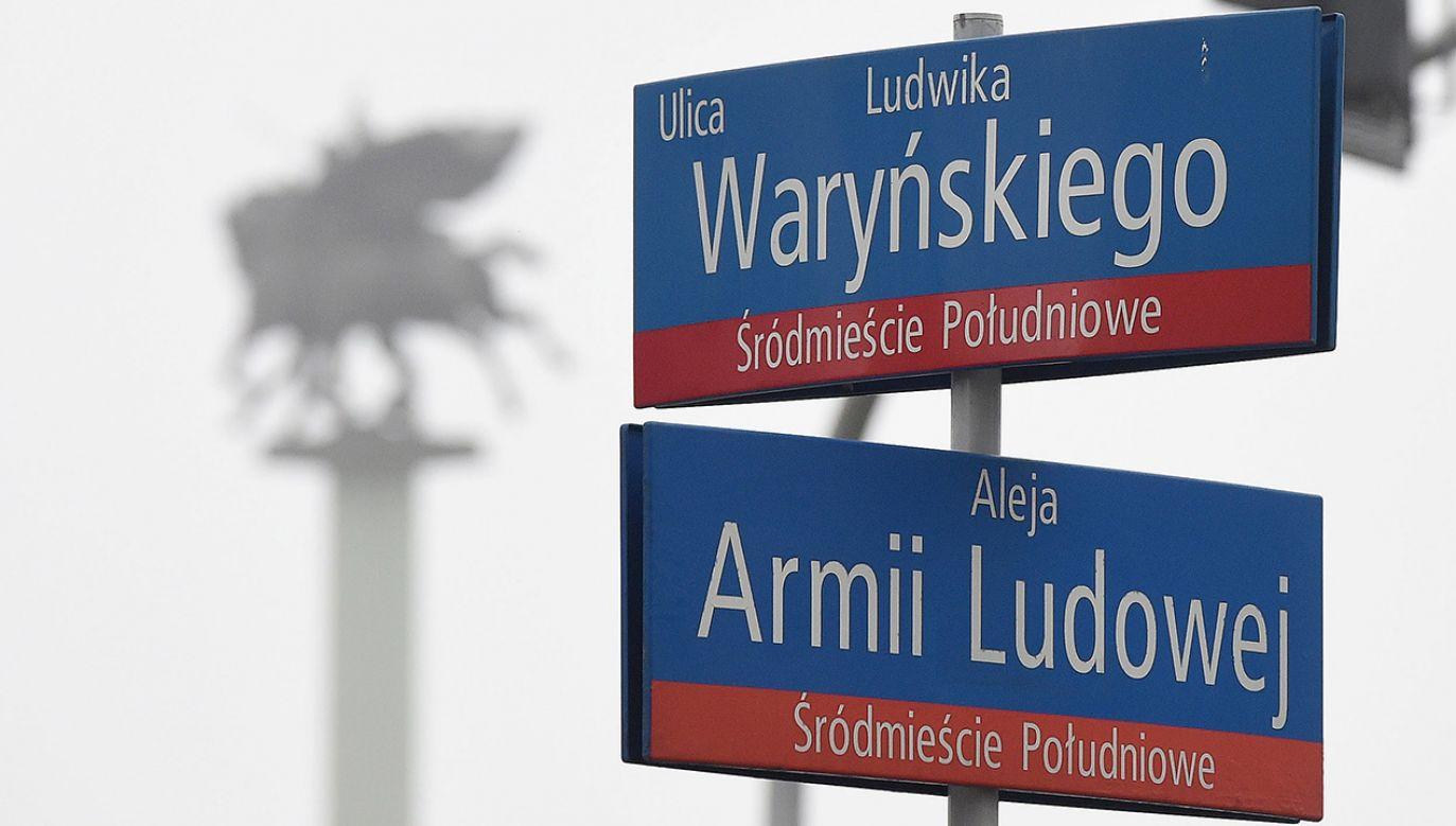 Aleja Armii Ludowej, skrzyżowanie z ulicą Ludwika Waryńskiego (fot. PAP/Radek Pietruszka)
