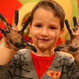 Prawdziwy artysta nie boi się pobrudzić sobie rąk