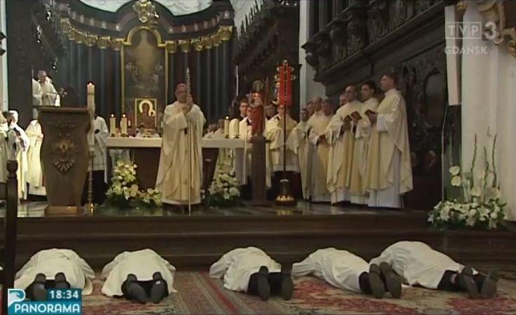 Święcenia kapłańskie w Katedrze Oliwskiej
