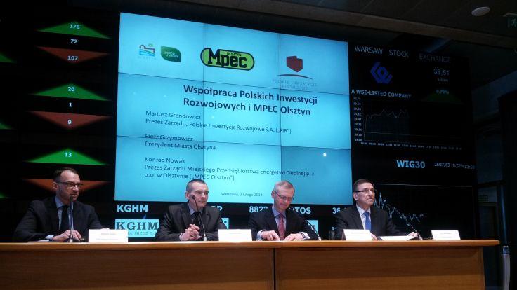 Polskie Inwestycje Rozwojowe podpisały porozumienie z MPEC.