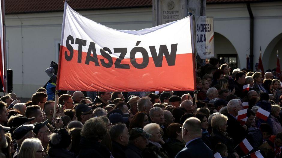 Prezydent RP, Andrzej Duda z wizytą w regionie. Fot. Radio Kielce