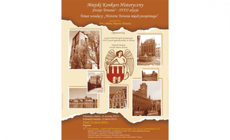 XVIII Miejski Konkurs Historyczny