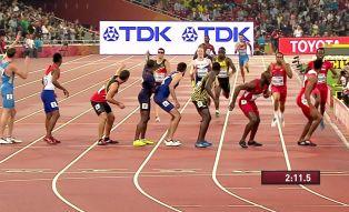 MŚ w Pekinie: zaskakujący bieg sztafety 4x400 m mężczyzn