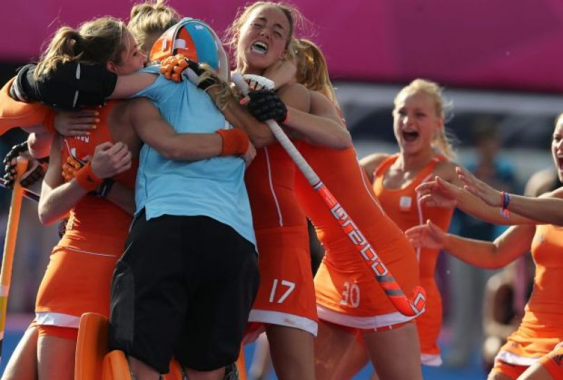 Holenderki pokonały Nową Zelandię i tym samym zapewniły sobie co najmniej srebro (fot. PAP/EPA)
