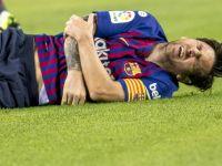 Pęknięta kość. Messi nie zagra z Realem Madryt!