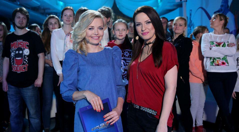 Program prowadzą dwie urokliwe Anie – Butrym i Maciejewska (fot. TVP/N. Młudzik)