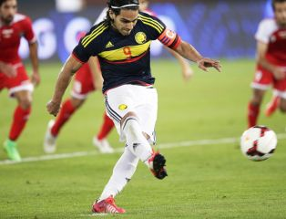 Kolumbia ograła Kuwejt. Gol Falcao