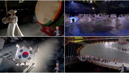 Ceremonia otwarcia igrzysk paraolimpijskich w Pjongczangu