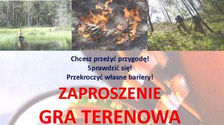 Gra terenowa Przetrwanie  - plakat