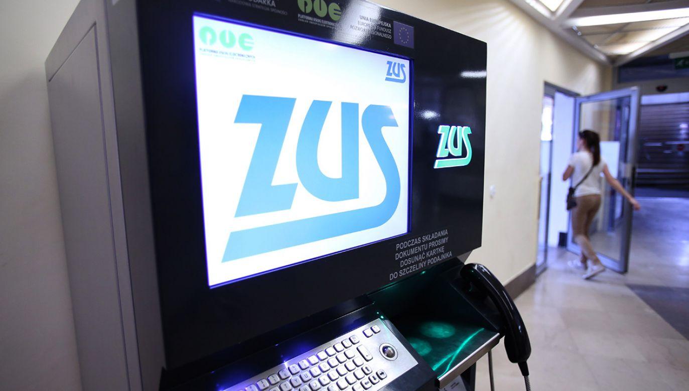Zusomat w placówce Poczty Polskiej przy ul. Świętokrzyskiej w Warszawie (fot. arch.PAP/Leszek Szymański)