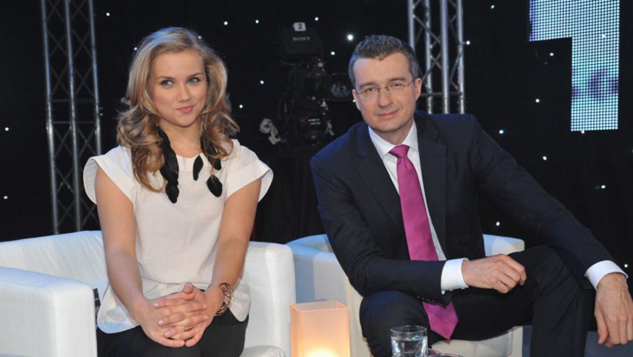 Agnieszka Kaczorowska prawdziwą maturę ma jeszcze przed sobą (fot. I. Sobieszczuk/TVP)