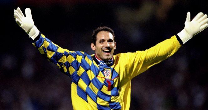 Drażen Ladić – jeden z najlepszych bramkarzy turnieju we Francji (fot. Getty Images)