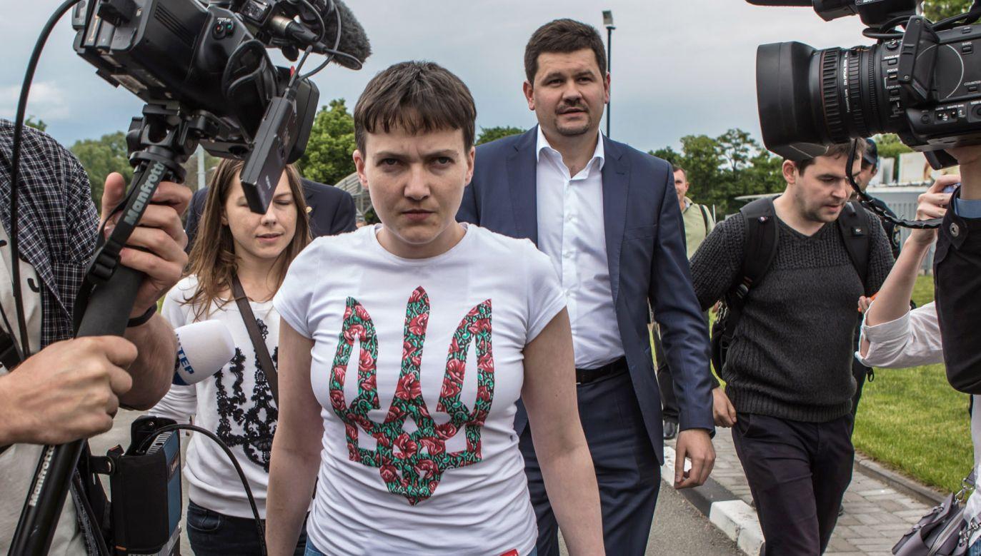 Nadija Sawczenko (fot.  Brendan Hoffman/Getty Images)
