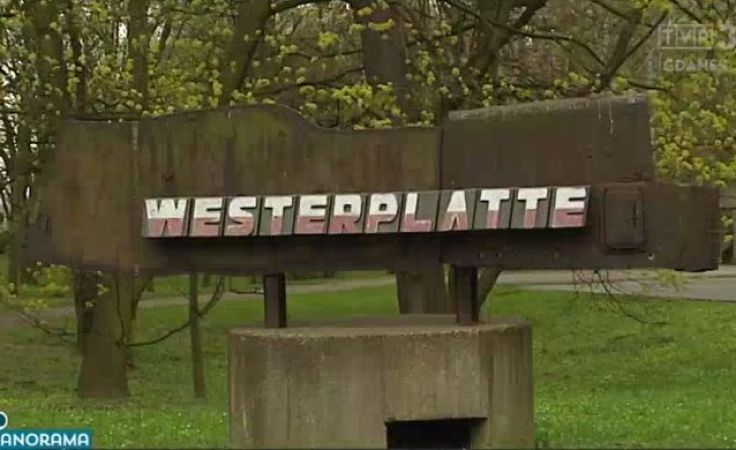 Nielegalne prace na Westerplatte