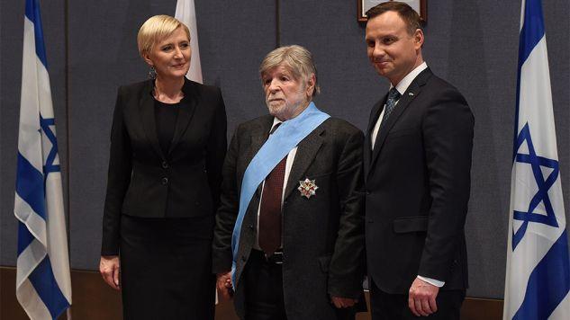 W latach 2000-2003 Szewach Weiss był ambasadorem Izraela w Polsce (fot. PAP/Radek Pietruszka)