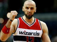 NBA: dobry mecz Gortata, siódma wygrana Wizards