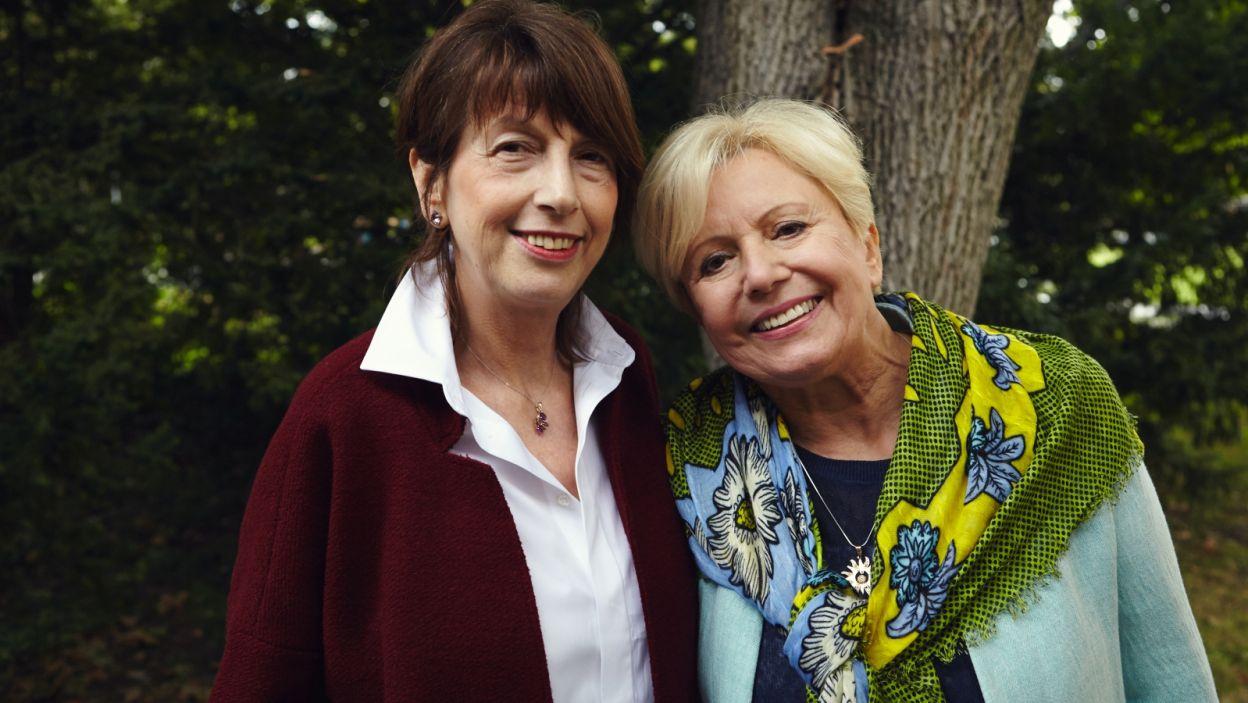 Sylwia Olszewska z przyjaciółką