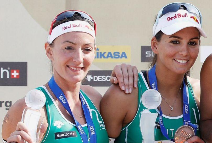 Marta Menegatti z koleżanką z pary Gretą Cicolari (fot. Getty Images)