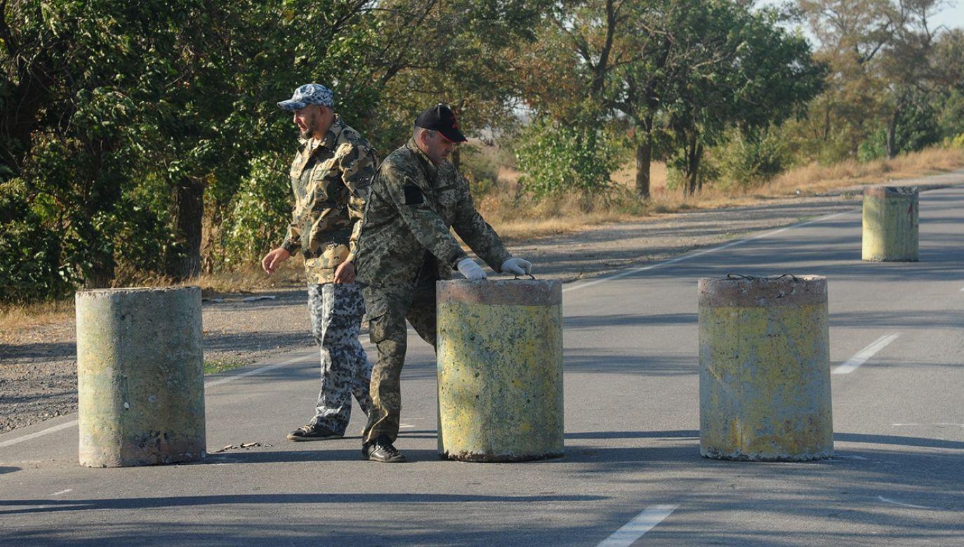 Krym wciąż jest nielegalnie okupowany przez Rosję (fot. Maksim Voytenko/Anadolu Agency/Getty Images)