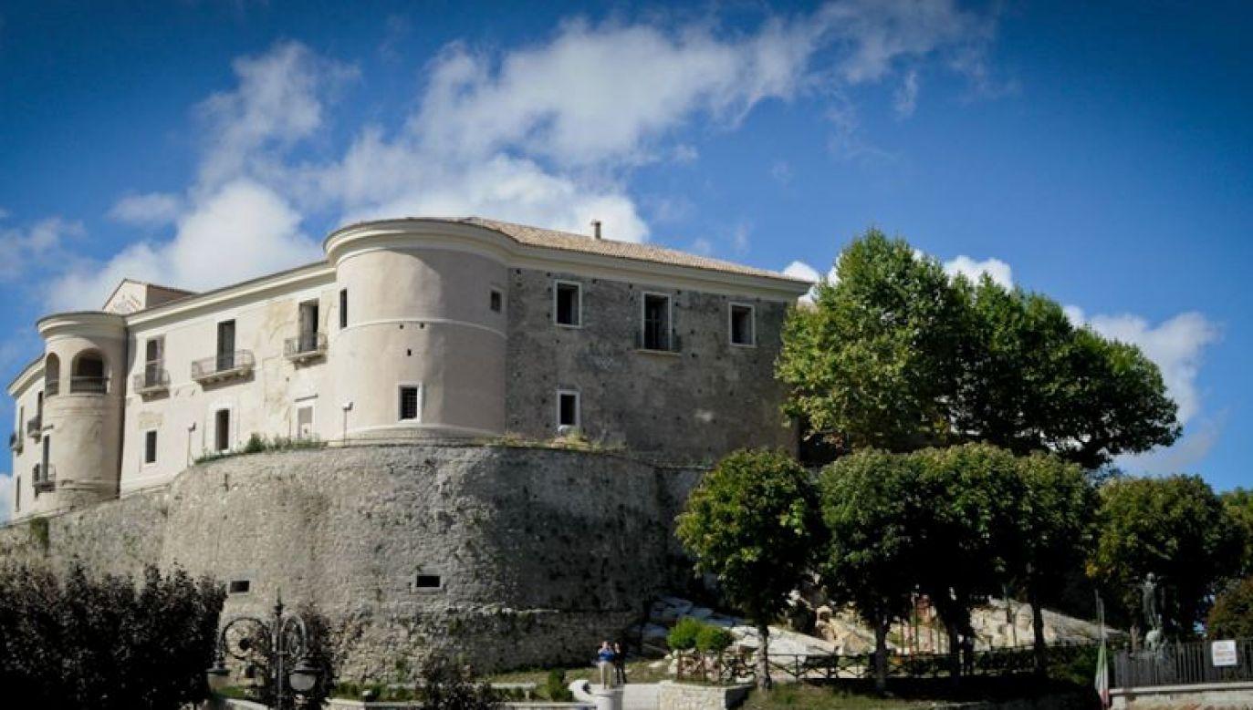Zamek Carla Gesualda w miejscowości Gesualdo, gdzie kompozytor skrył się po zamordowaniu żony i jej kochanka. Fot. Wikimedia