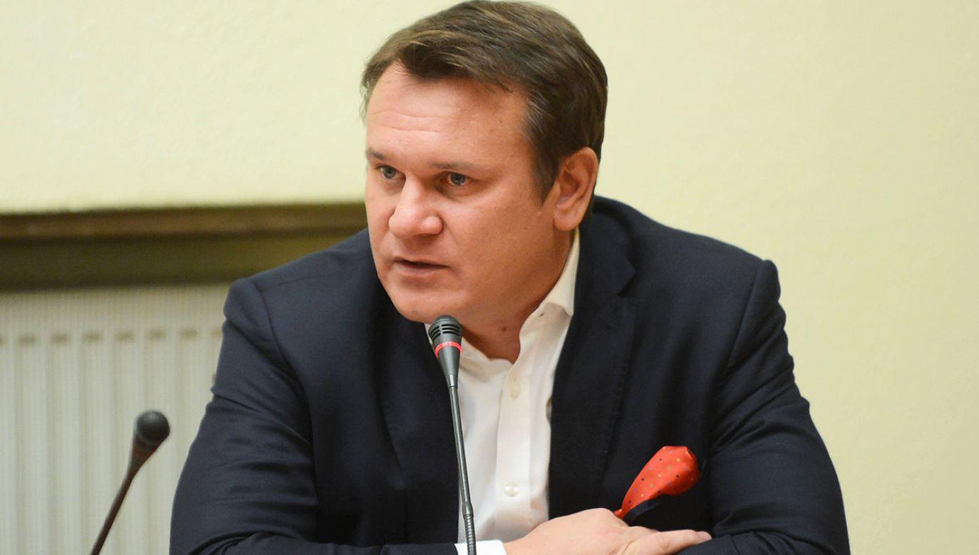 Tarczyński wziął udział w debacie na temat aborcji w telewizji France24(fot. arch.PAP/Jakub Kamiński)