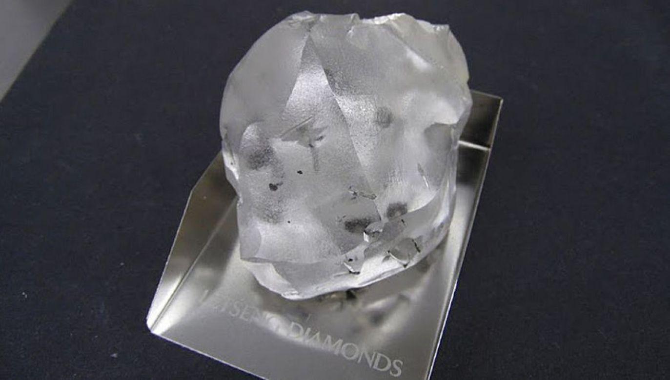 Lesotho Legend to piąty największy bezbarwny diament wysokiej jakości, jaki kiedykolwiek znaleziono (fot. Gem Diamonds)