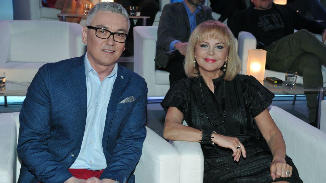 Kto był liderem w tej drużynie? Artur Orzech czy Izabela Trojanowska? (fot. TVP/K.Kurek)