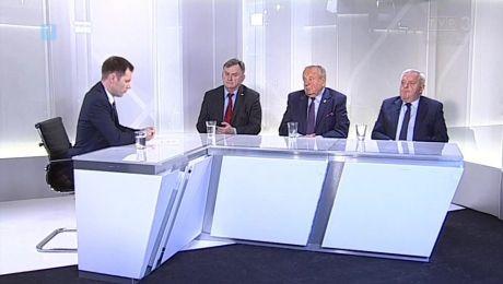 22.10.2017, Tadeusz Jędrzejczak SLD, Władysław Komarnicki PO, Marek Surmacz PiS