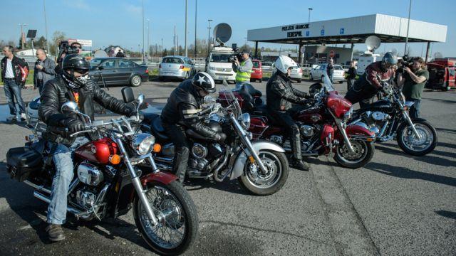 Motocykliści z Rosji już w Polsce. Twierdzą, że nie są Nocnymi Wilkami