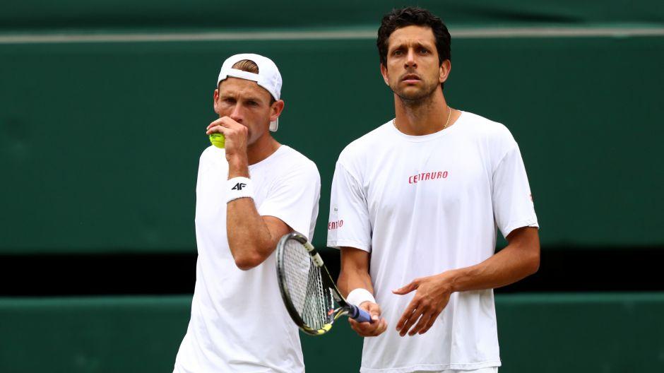 Łukasz Kubot i Marcelo Melo (fot. Getty Images)