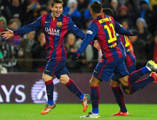 Moc emocji na Camp Nou. Niezawodny Messi