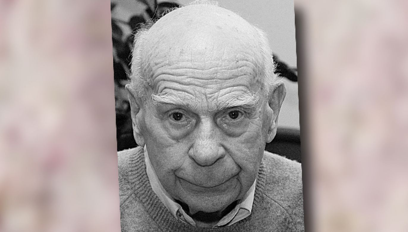 Janusz Kłosiński miał 96 lat (fot. PAP/Radek Pietruszka)