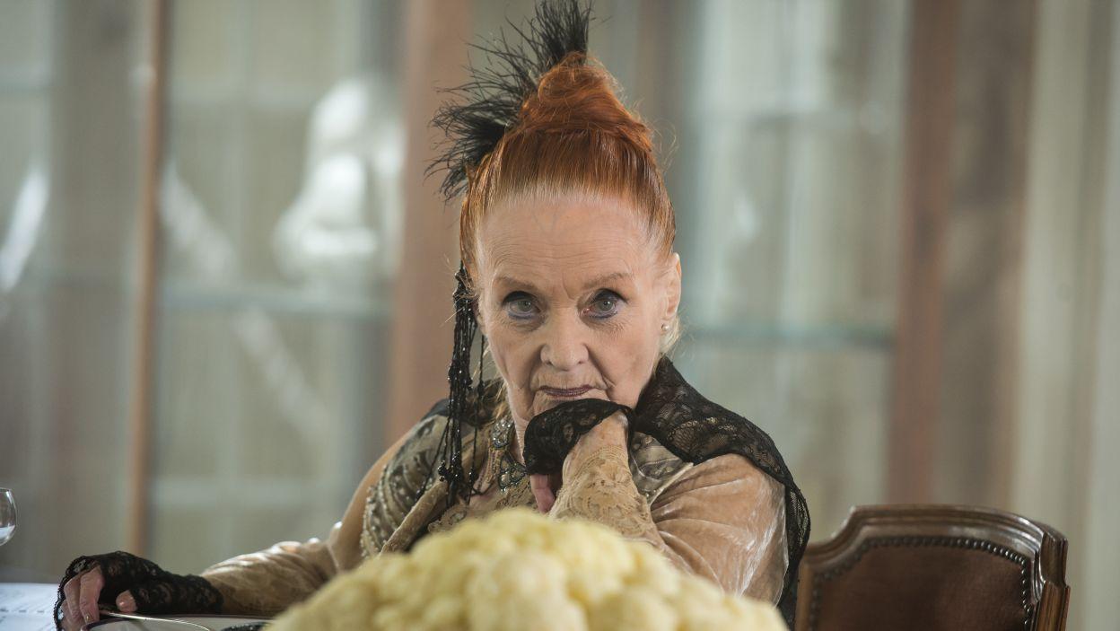 Barbara Krafftówna wykreowała postać Starej Markizy (fot. Jan Bogacz/TVP)