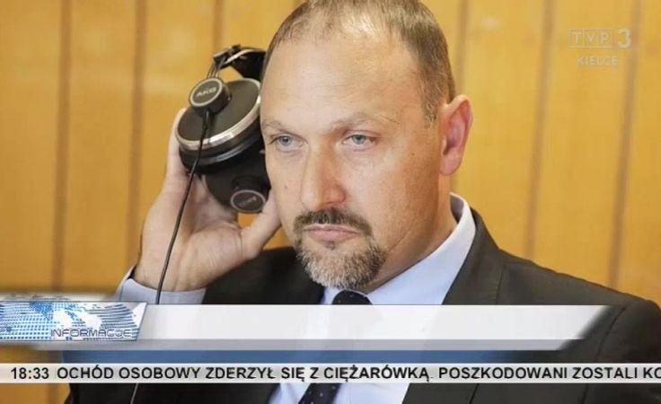 Kryzys w PSL. Publiczna krytyka poczynań marszałka Jarubasa. Na zdjęciu: Grzegorz Lasak, który wystąpił z partii