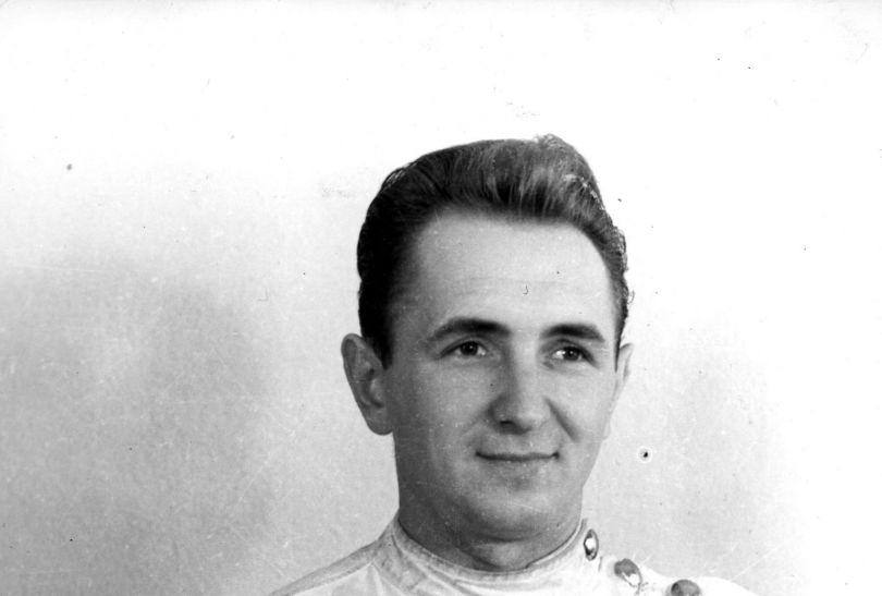 Mistrz olimpijski w szabli z 1968 roku z Meksyku Jerzy Pawłowski (fot. PAP)