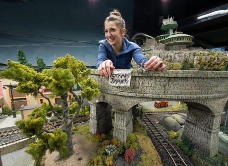 Miniaturowy świat na Dworcu Świebodzkim