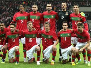 Reprezentacja Portugalii (fot. PAP/EPA)