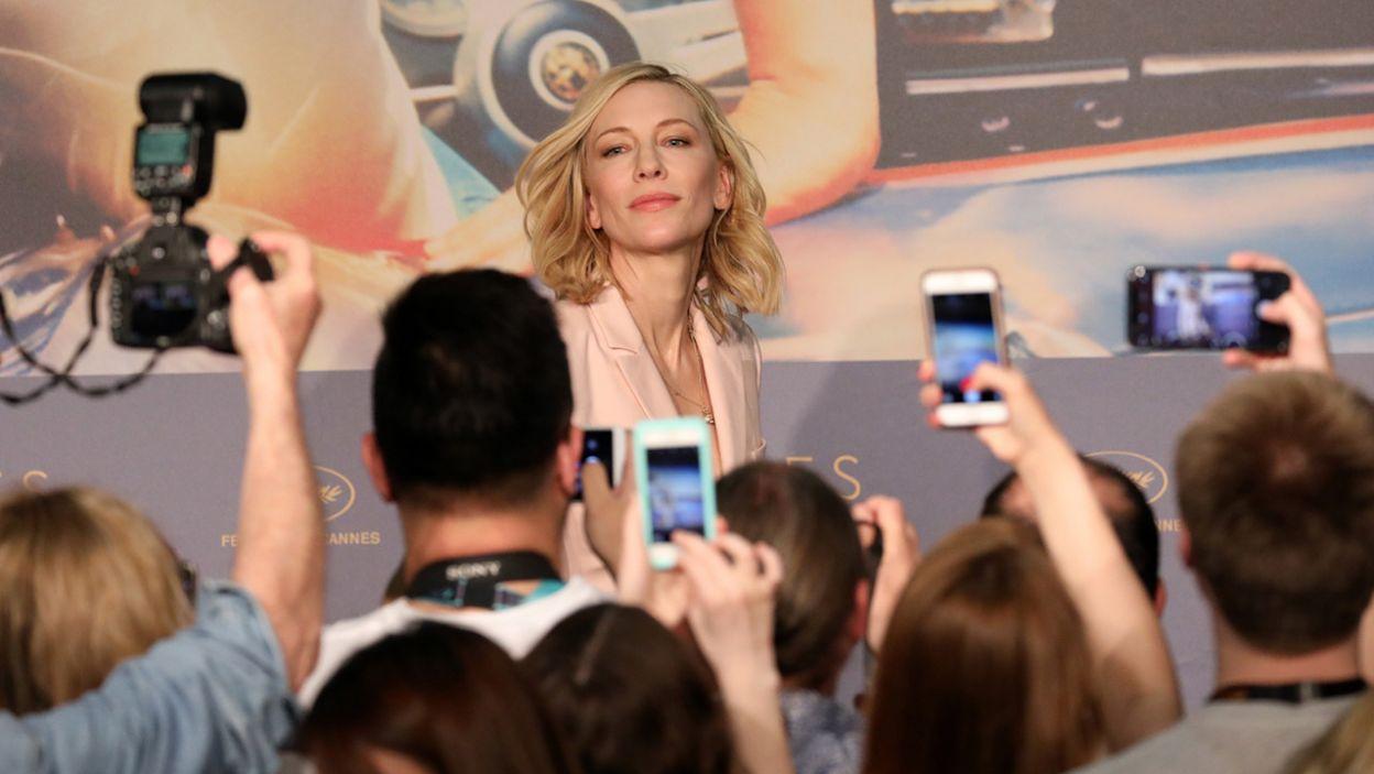 Przewodniczący jury, australijska aktorka Cate Blanchett  (fot. PAP/EPA/Tristan Fewings/POOL)