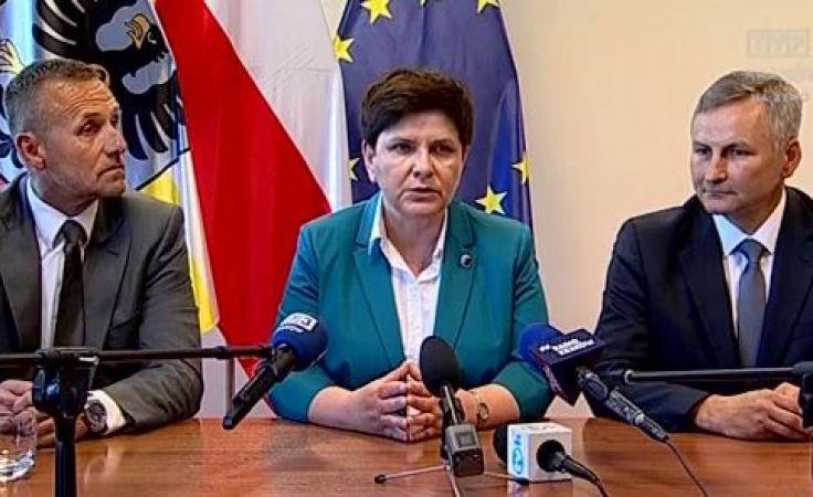 PiS zaprezentowało kandydatów na prezydentów Oświęcimia i Tarnowa