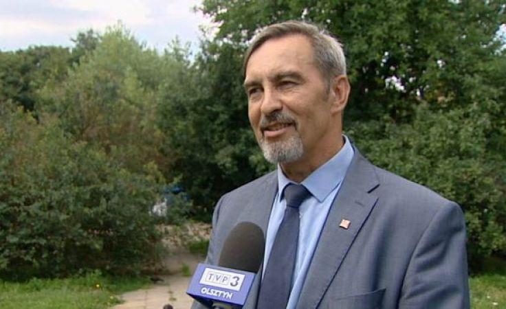 Jan Kasprowicz jest kierownikiem Zakładu Gospodarki Komunalnej w Gietrzwałdzie