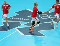 Duńczycy pokonali Hiszpanię po zaciętym meczu 24:23 (fot. Getty Images)