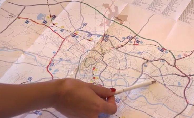 """Do tej pory powstało """"Studium rozwoju systemu transportu Miasta Krakowa, w tym budowy metra"""". , fot. telewizja.krakow.pl"""
