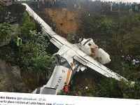 Katastrofa w Himalajach. Samolot rozbił się podczas lądowania