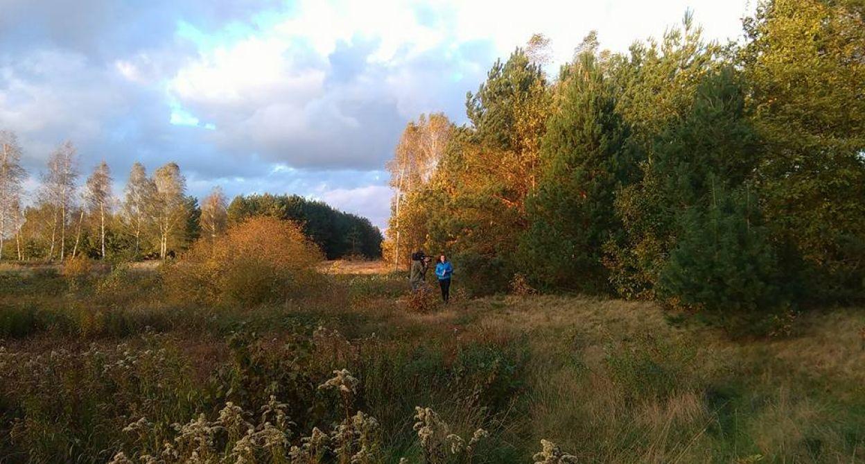 Poszukiwania prowadzone były też w pobliskim lesie