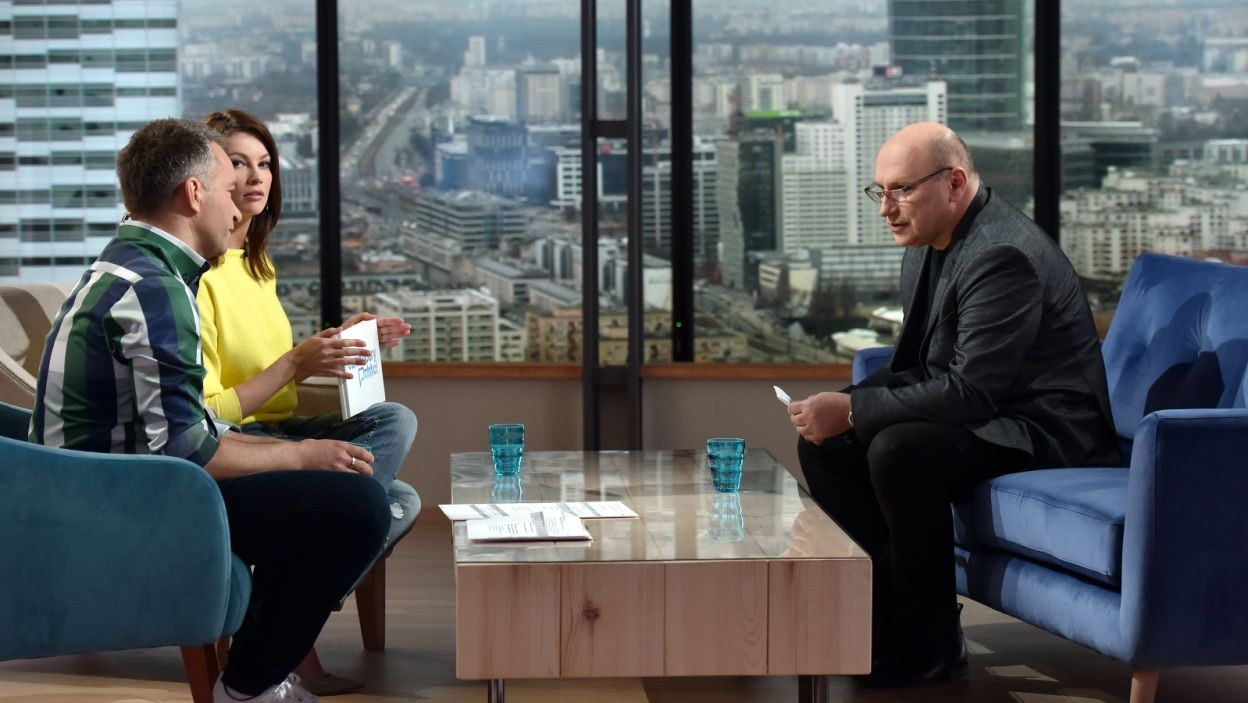 O Oscarach i muzyce filmowej rozmawiamy z laureatem Grammy, pianistą Włodkiem Pawlikiem (fot. TVP)