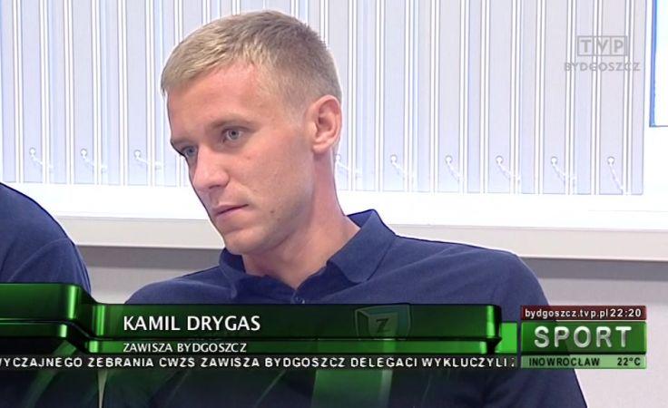 Kapitan Zawiszy Kamil Drygas zapewnił punkt na stadionie Arki