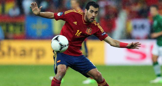 Sergio Busquets w wieku 23 lat ma już na koncie mistrzostwo świata i Europy(fot. Getty Images)